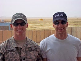 Capt. Dave Lawson and Rob Burnett are based in Al Kisik, Iraq.