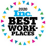 Inc. Magazine Best Workplaces badge