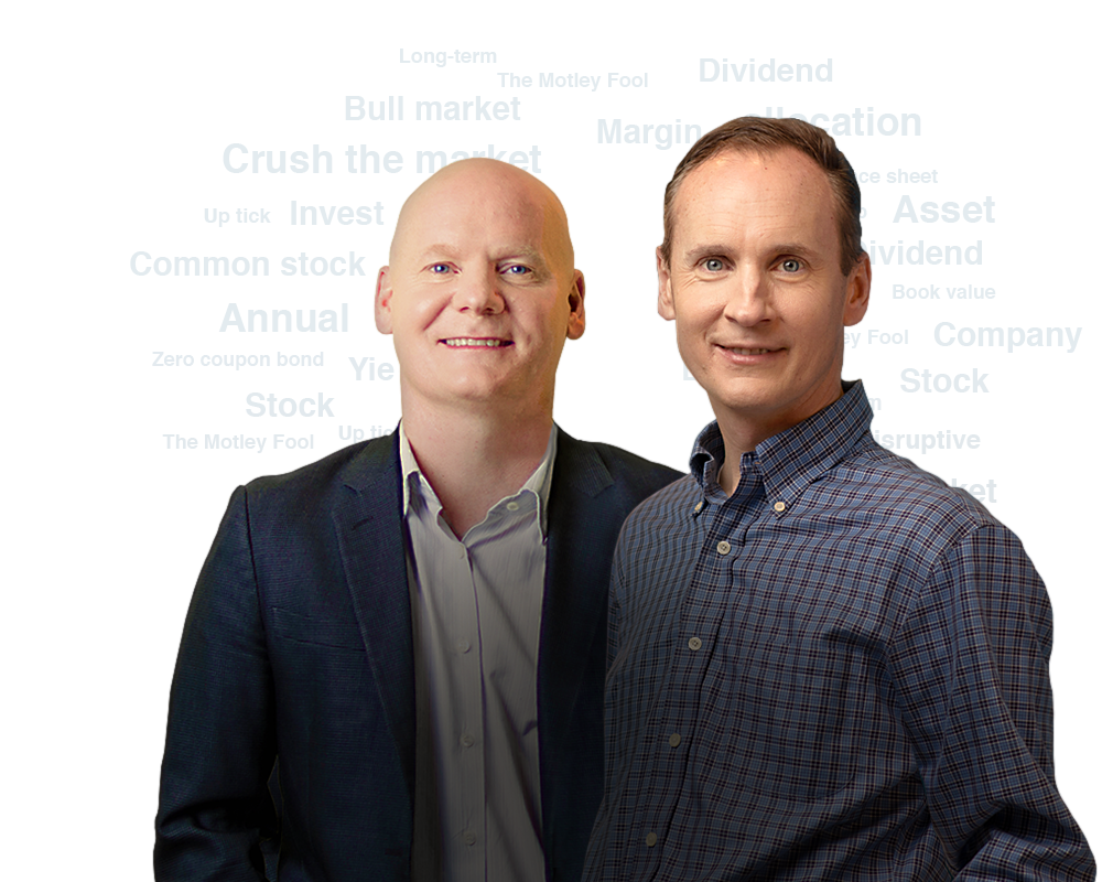 Tom and David Gardner, Founders of The Motley Fool
